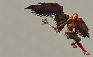 Hawkgirl by DMantz