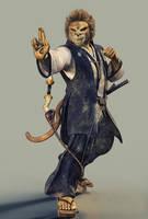 Tabaxi Samurai by DMantz