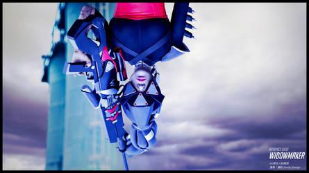 overwatch widow maker cosplay by ZenGo-Design