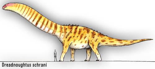 Dreadnoughtus schrani by PLASTOSPLEEN