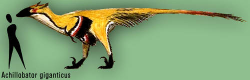 Achillobator giganticus by PLASTOSPLEEN