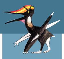 Germanodactylus cristatus by PLASTOSPLEEN