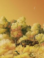 Saurian Ankylosaurus by PLASTOSPLEEN