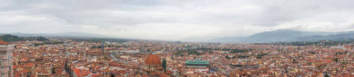 Atop the Florence Cathedral 2 by Thrakki