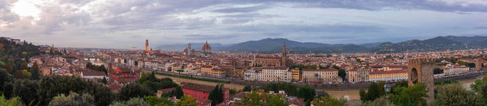 Florence Panorama Light by Thrakki