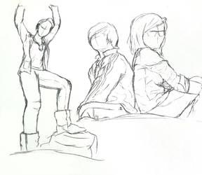 Figure Study 1 by fiyapheonix