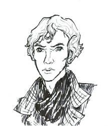Sherlock by fiyapheonix