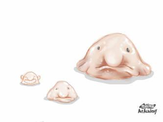 Blobfish by fiyapheonix