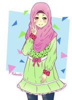 Mischievous Hijabi-2 by Ruhacchi