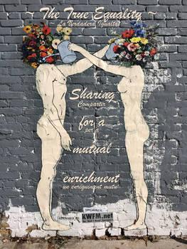 The #TrueEquality | Sharing = mutual enrichment by KWFMdotnet