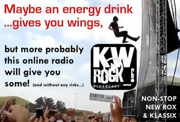 KW ROCK_! by KWFM.net _ ...gives you wings by KWFMdotnet