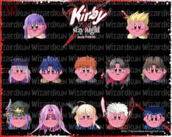 Kirby-Stay Night by Wiz-Dan