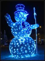 Snowman by Andrei-Joldos