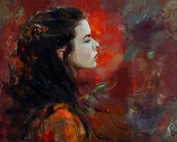 self-portrait by silentlights