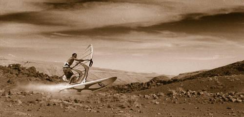 Barren Surfing by lingobar