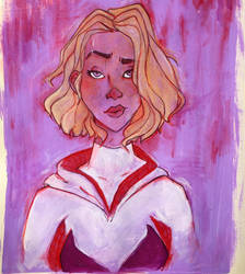 Spider-Gwen by LittleWheat