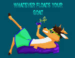 Whatever Floats Your Goats by HyperHair
