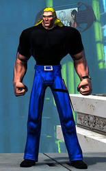 Champions Online - Brock by dbmills1