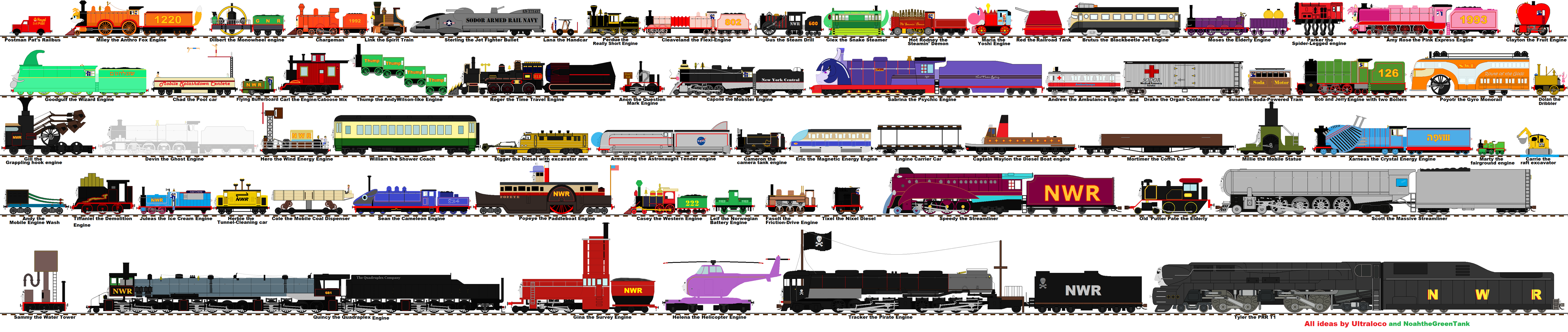 Rejected Thomas And Friends 5 By Ultraloco On Deviantart