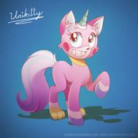 Unikitty! by ElStiv
