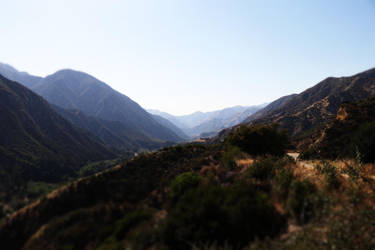 San Gabriel Mountains by shadow-tw