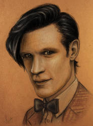 Matt Smith as 11th Doctor by Felis-Irbis