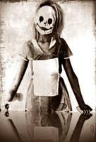 clown mask by lili101