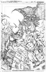 Batman comission final pencils by geraldohsborges