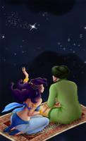 Realistic Fantasy- 1001 Nights by Silverunicorn