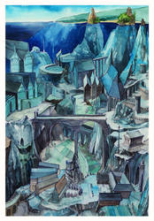 The underwater empire by MinkuLul