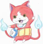 Jibanyan - Yo-Kai Watch by IrukaAoi