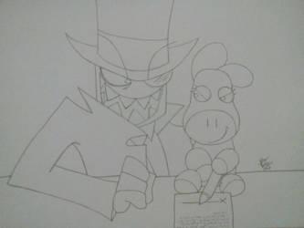 Black Hat Organization Daisy by IrukaAoi