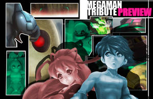 Megaman Tribute preview 2 by ARMYCOM
