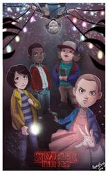 STRANGER THINGS by ARMYCOM