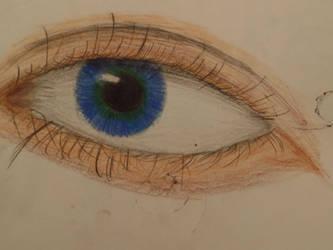 humman eye practice by TheLastRedDragon