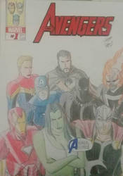 #AvengersAssemble Together to fight as one  by Brunneo42comicslover