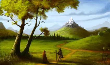 Landscape 2 by YngveMartinussen