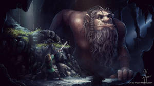 Troll cave by YngveMartinussen