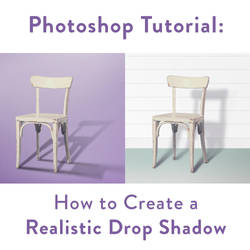 How to Create a Realistic Drop Shadow | Photoshop by clippingpathindia