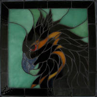 Silvermoon Stained Glass Part 2 by buckskinmare