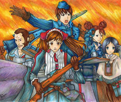 Valkyria Chronicles by Angels-Little-Chii