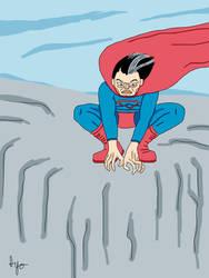 Savage Superman by nervousystem