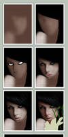 Dream Girl ::: The Making by mazhear