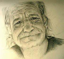 Old Man w.i.p 2 by mazhear
