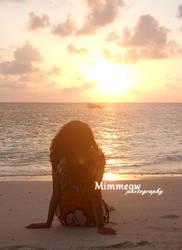 Watching the sunrise by Lazulyte