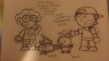 Friend and I as pokemon trainers by el-andrajoso-feliz