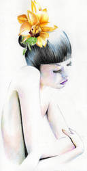 Like a flower, like a flame... by Nachan
