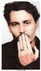 Johnny Depp by Nachan