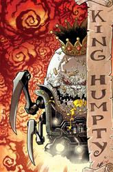 King Humpty Dumpty Colors by DerekHunter