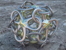 Interlocked Polyhedra Petals by LuxXeon